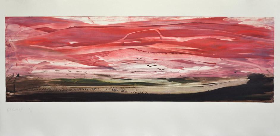 Landscape II, 2012,monotype,58x125cm