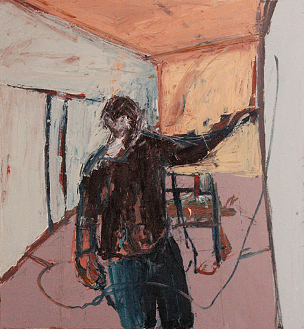 Self Portrait I, 2004, oil on canvas, 55×25 cm (2)