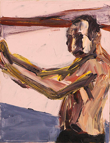Self Portrait II, 2006, oil on canvas, 45×35 cm