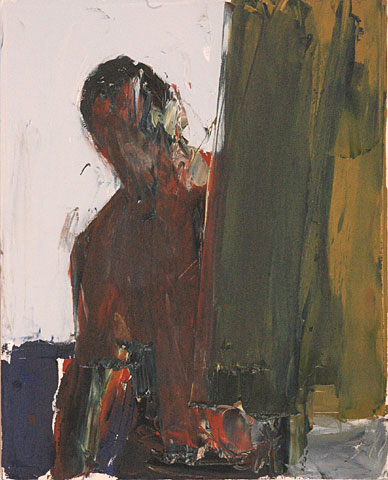 Self Portrait IX, 2006, oil on canvas, 50×40 cm