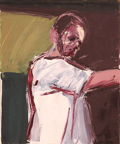 Self Portrait VIII, 2006, oil on canvas, 60×50 cm