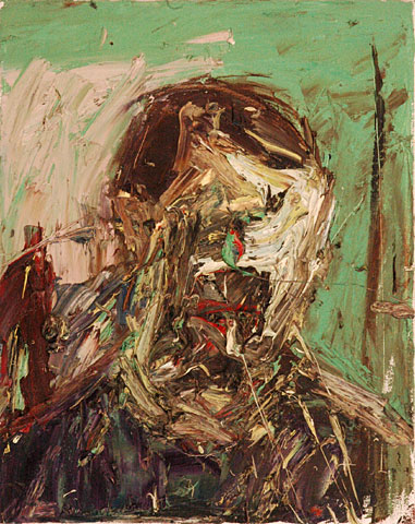 Self Portrait X, 1999, oil on canvas, 51×41 cm