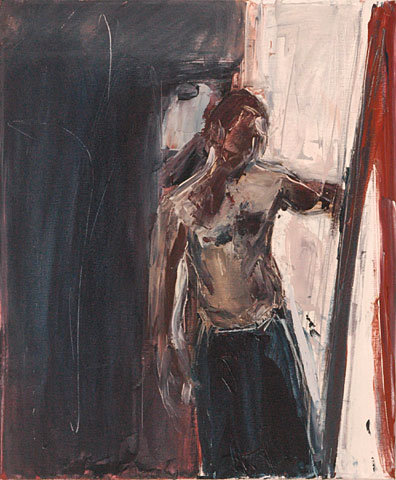 Self Portrait XIII, 2006, oil on canvas, 60×50 cm