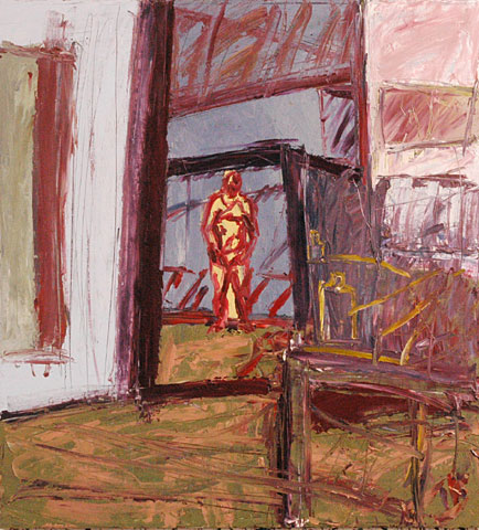 Studio I, 2005, oil on canvas, 130×120 cm